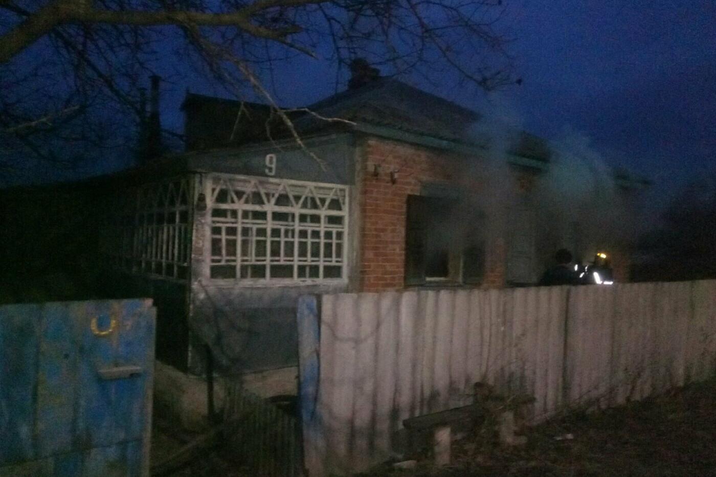 На Харьковщине спасатели во время тушения пожара нашли труп мужчины, - ФОТО, фото-1