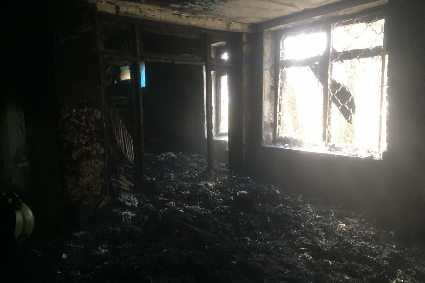 В Харькове подожгли учебный корпус Центра профтехобразования, - ФОТО, фото-1