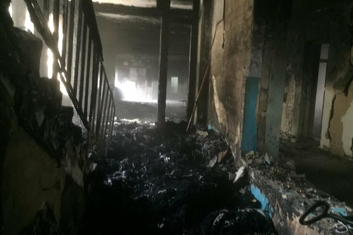 В Харькове подожгли учебный корпус Центра профтехобразования, - ФОТО, фото-2