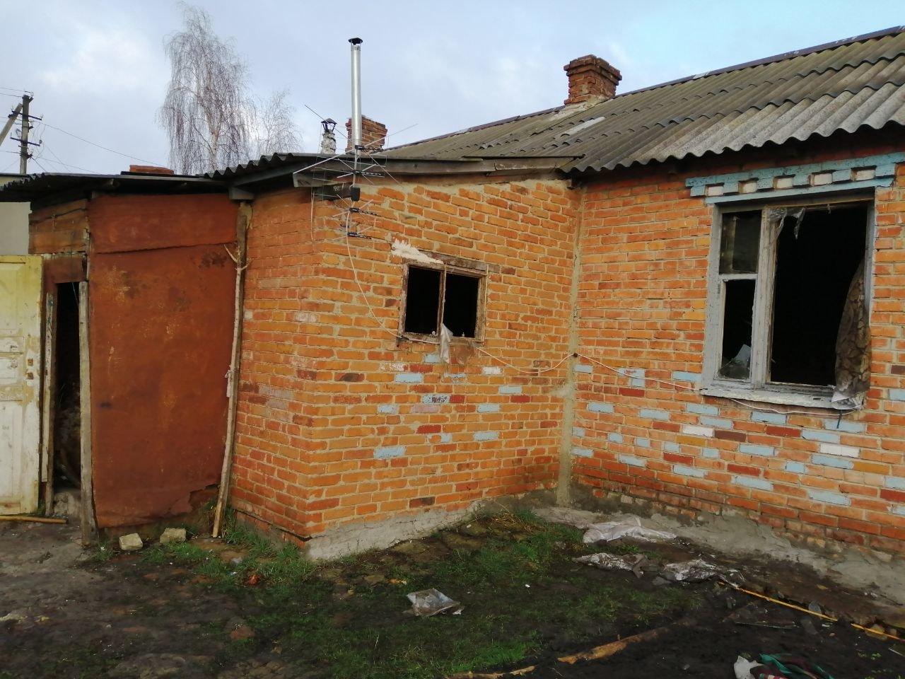 При пожаре под Харьковом погибла 90-летняя пенсионерка, - ФОТО, фото-1