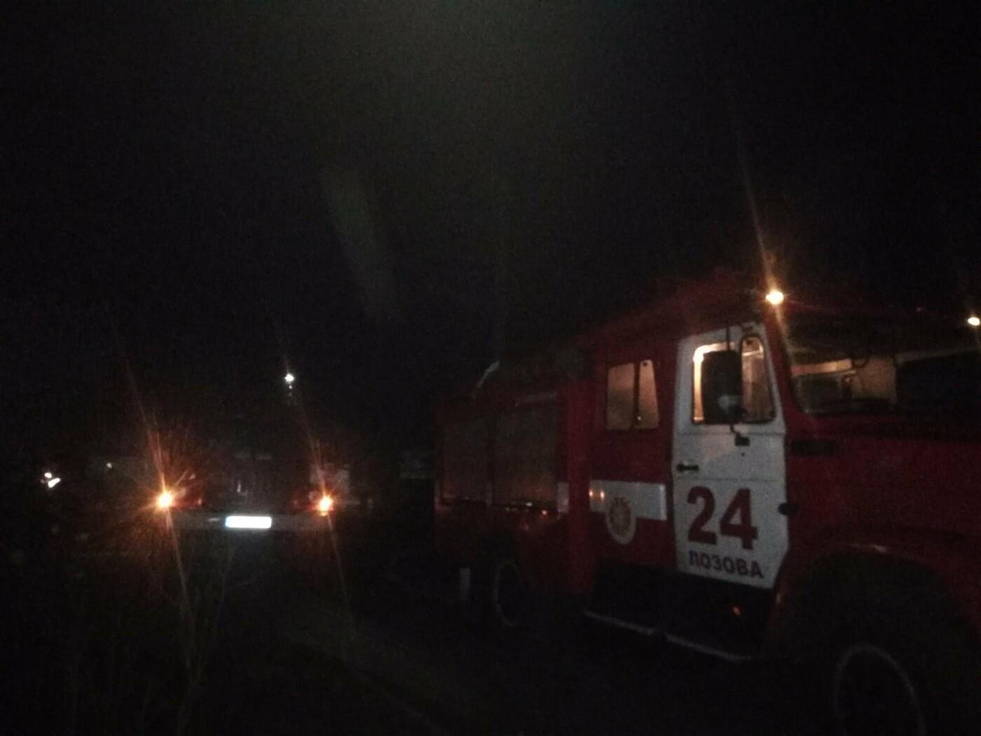 На Харьковщине бойцы ГСЧС во время пожара в частном доме спасли 83-летнюю пенсионерку, - ФОТО, фото-2