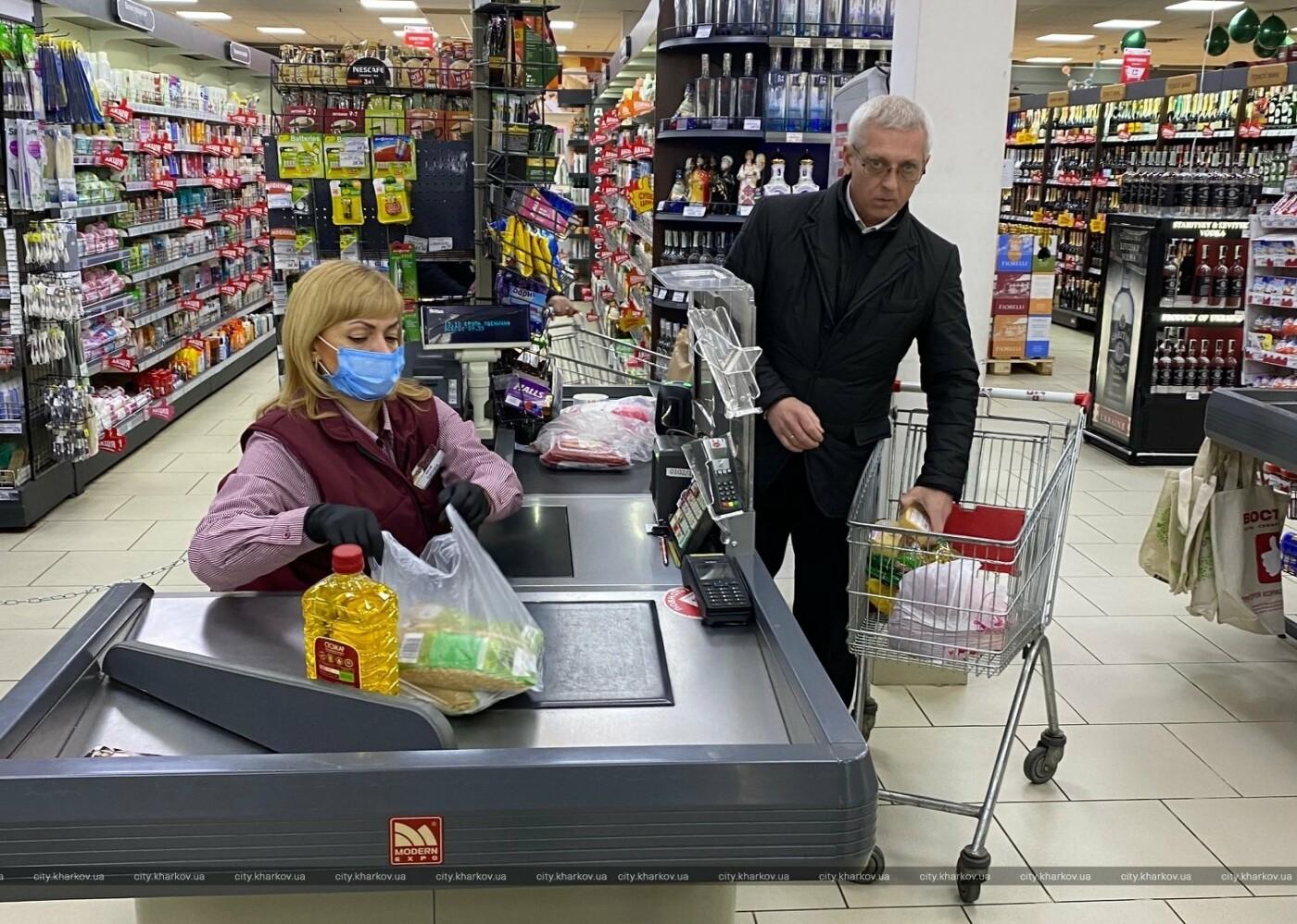 В Харькове проверили работу двух супермаркетов во время карантина, - ФОТО, фото-5