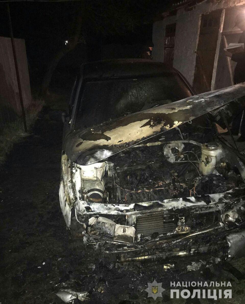 На Холодной горе неизвестные сожгли машину, - ФОТО, фото-2
