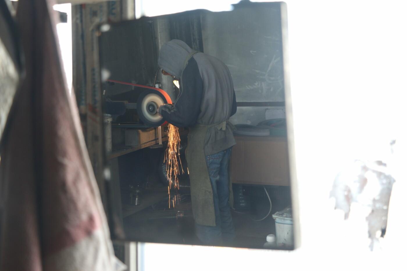 От тяжелого ранения в АТО до успешного бизнеса. История харьковчанина, производящего уникальные ножи, - ФОТО, фото-9