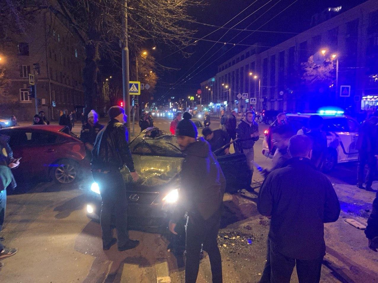 В Харькове патрульные попали в тройное ДТП: пострадали пять человек, - ФОТО, фото-2
