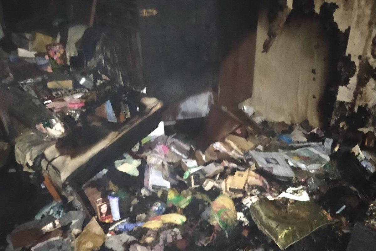 В Харькове во время пожара в квартире погибла пенсионерка, - ФОТО, фото-1