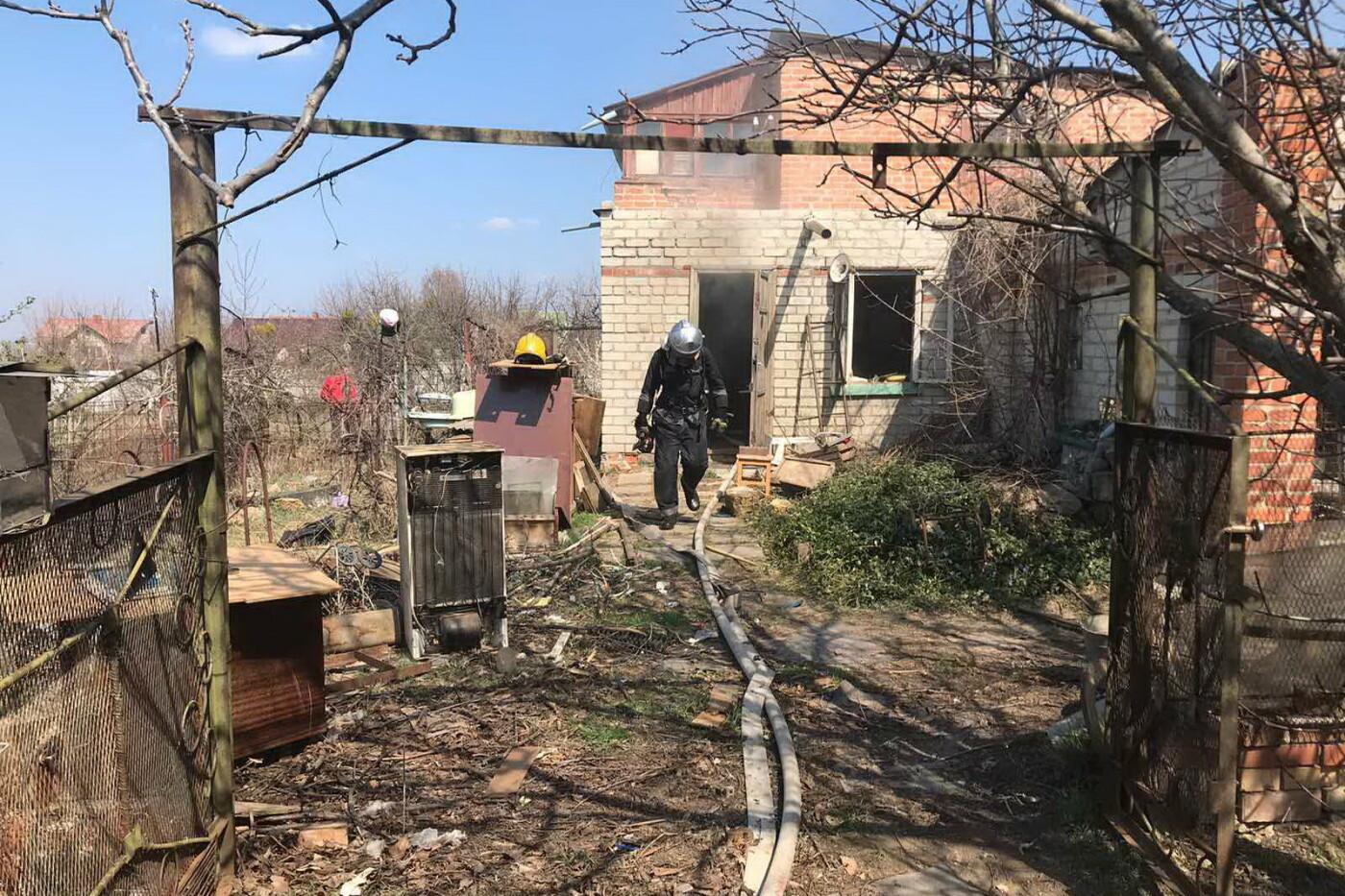 На Харьковщине во время пожара в частном доме погиб пенсионер, - ФОТО, фото-1