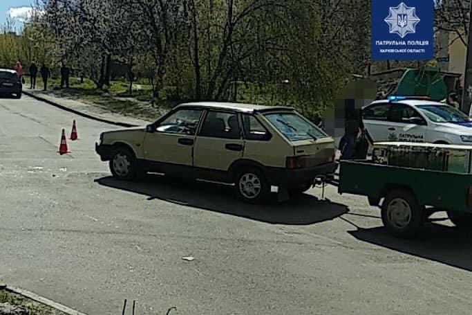 В Харькове мотоциклист попал под колеса легкового авто: пострадавший в больнице, - ФОТО, фото-2