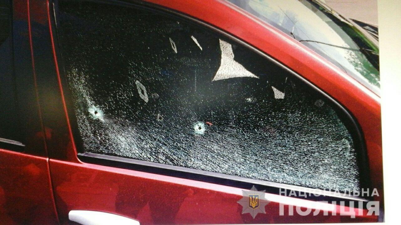 В Харькове мужчина обстрелял машину другого водителя из-за нарушения ПДД, - ФОТО, фото-1