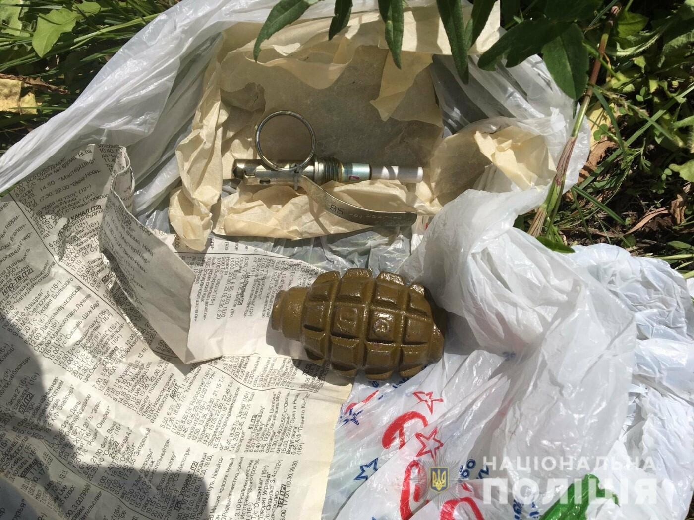 На Харьковщине полиция задержала мужчину, который торговал гранатами, - ФОТО, фото-1