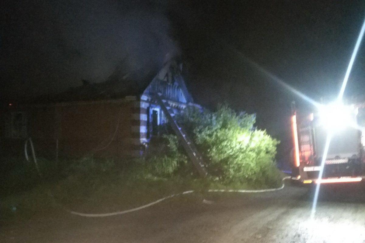 В Изюме при пожаре сгорел мужчина, - ФОТО, фото-1