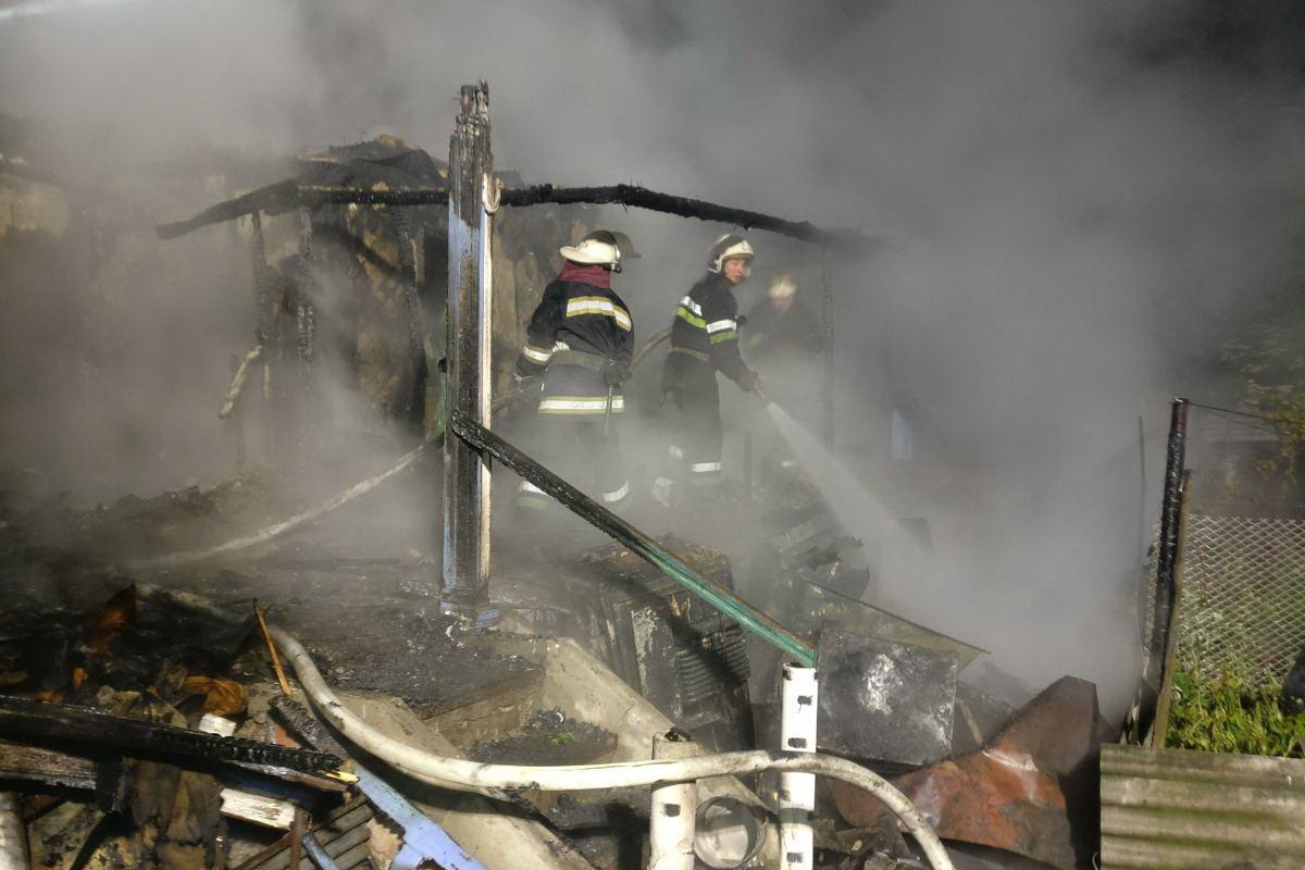 В Изюме при пожаре сгорел мужчина, - ФОТО, фото-3