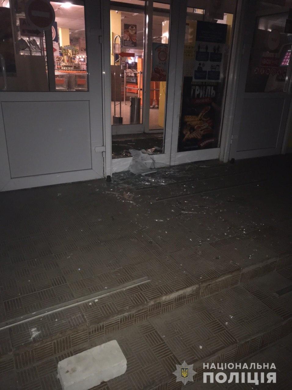 В Харькове неизвестные взорвали банкомат, находящийся в супермаркете, - ФОТО, фото-2