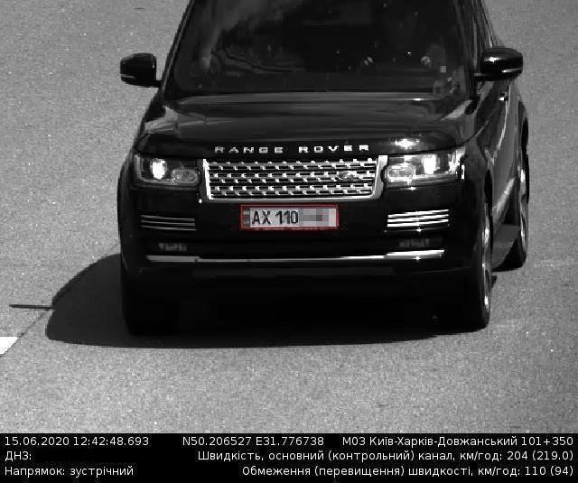 Мчали больше 200 км/ч: два Range Rover на харьковских номерах устроили гонки на трассе Киев–Харьков, - ФОТО, фото-1