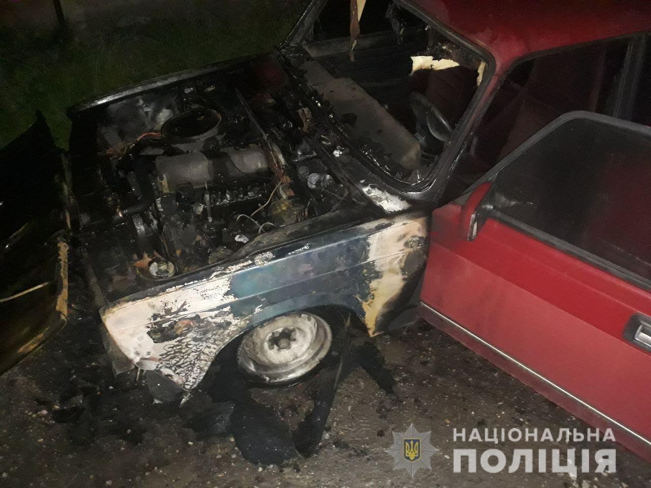 В Харькове за ночь сожгли два автомобиля, - ФОТО, фото-1