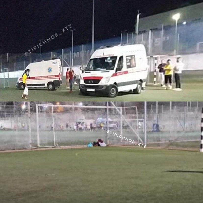На футбольном поле в Харькове скончался гражданин Ирака, - ФОТО, фото-1