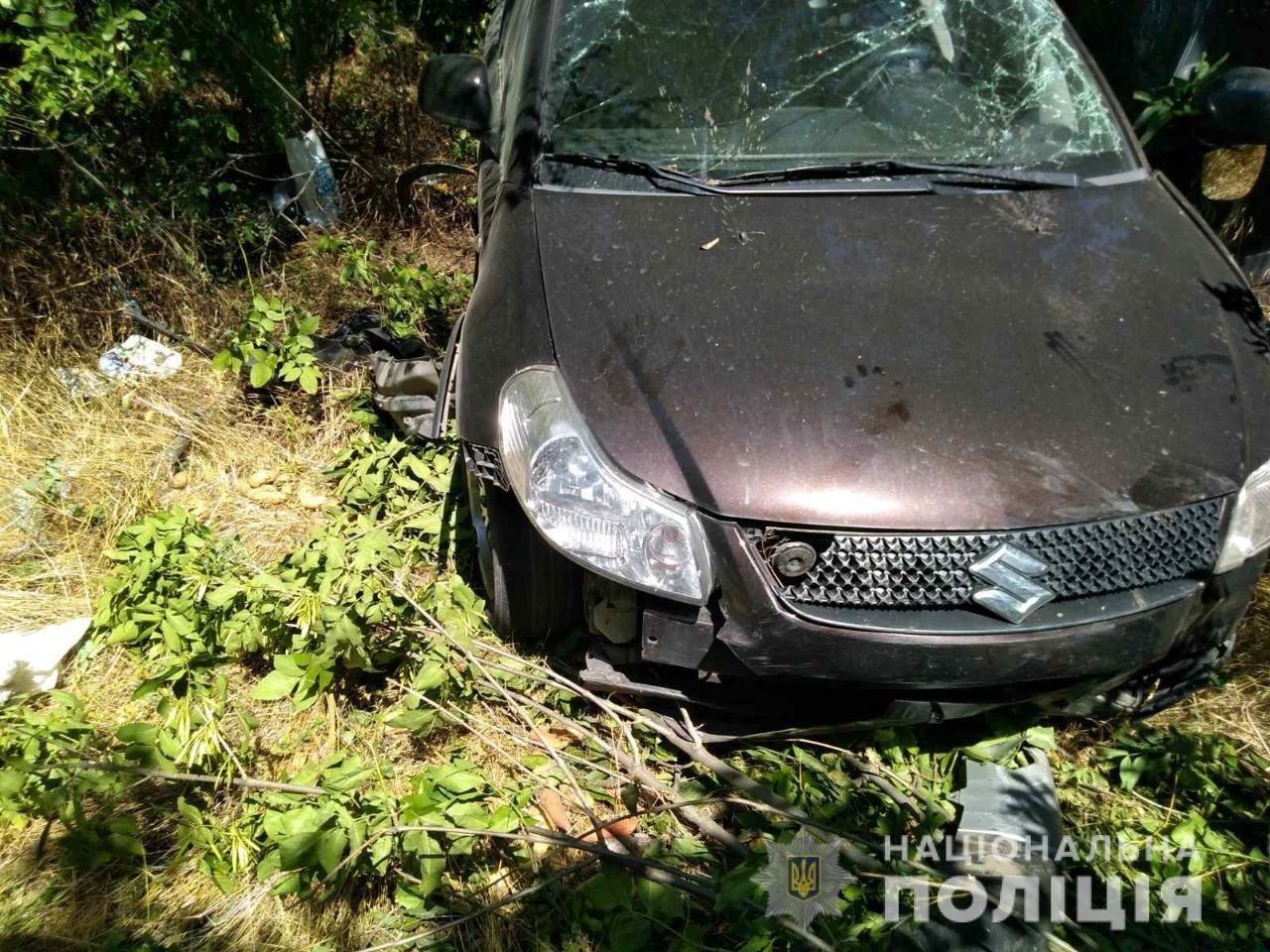 В Харьковской области легковой автомобиль «вылетел» в кювет: 4 человек в больнице, - ФОТО, фото-2