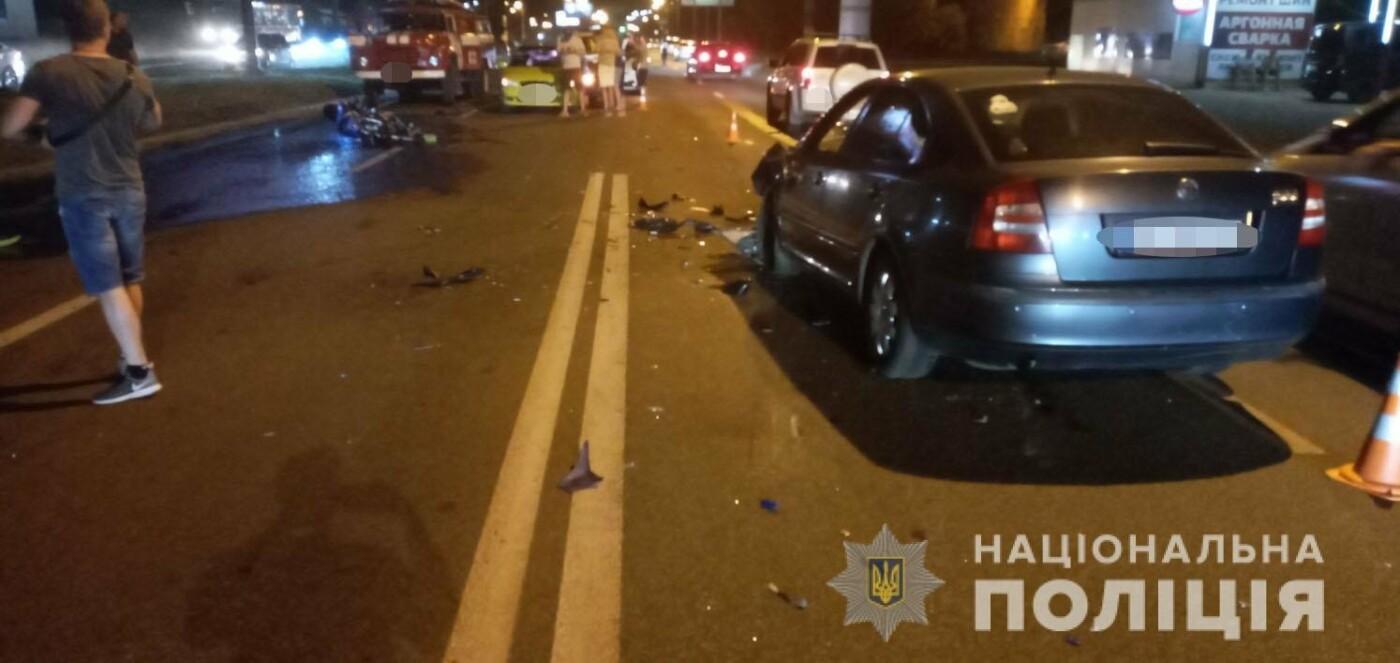 В Харькове мотоциклист выехал на «встречку» и врезался в авто: есть погибший и пострадавший, - ВИДЕО, фото-3