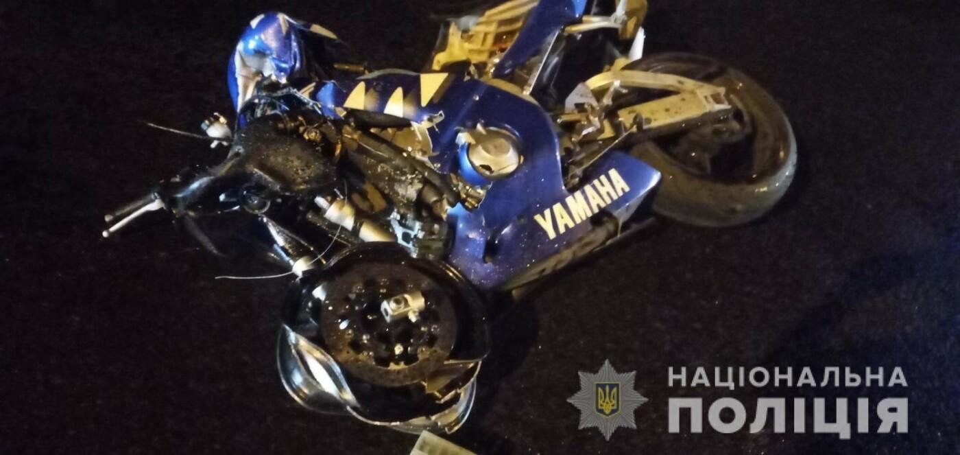 В Харькове мотоциклист выехал на «встречку» и врезался в авто: есть погибший и пострадавший, - ВИДЕО, фото-1
