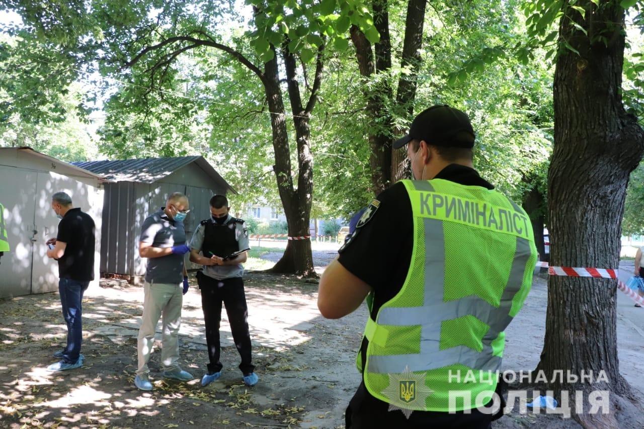 Полиция устанавливает личность убитого, которого нашли завернутым в ковер на ХТЗ, - ФОТО, фото-1