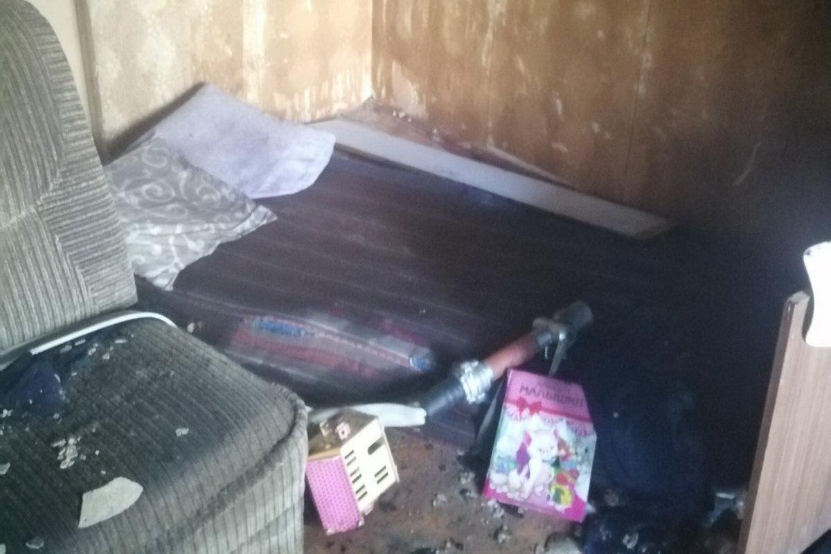 В Харькове спасатели эвакуировали два человека из горящей «пятиэтажки», - ФОТО, фото-3
