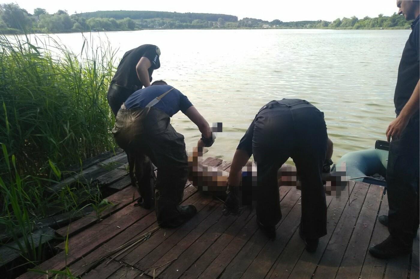 В Харьковской области нашли труп мужчины, утонувшего в местном пруду, - ФОТО, фото-1