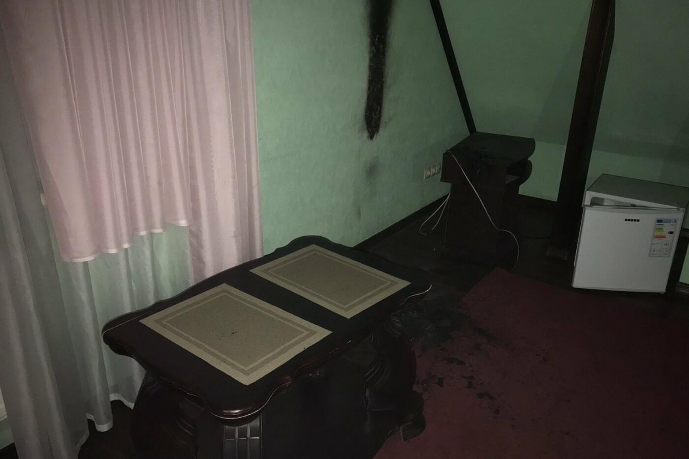 В Харькове из-за телевизора загорелся номер мини-отеля, - ФОТО, фото-2