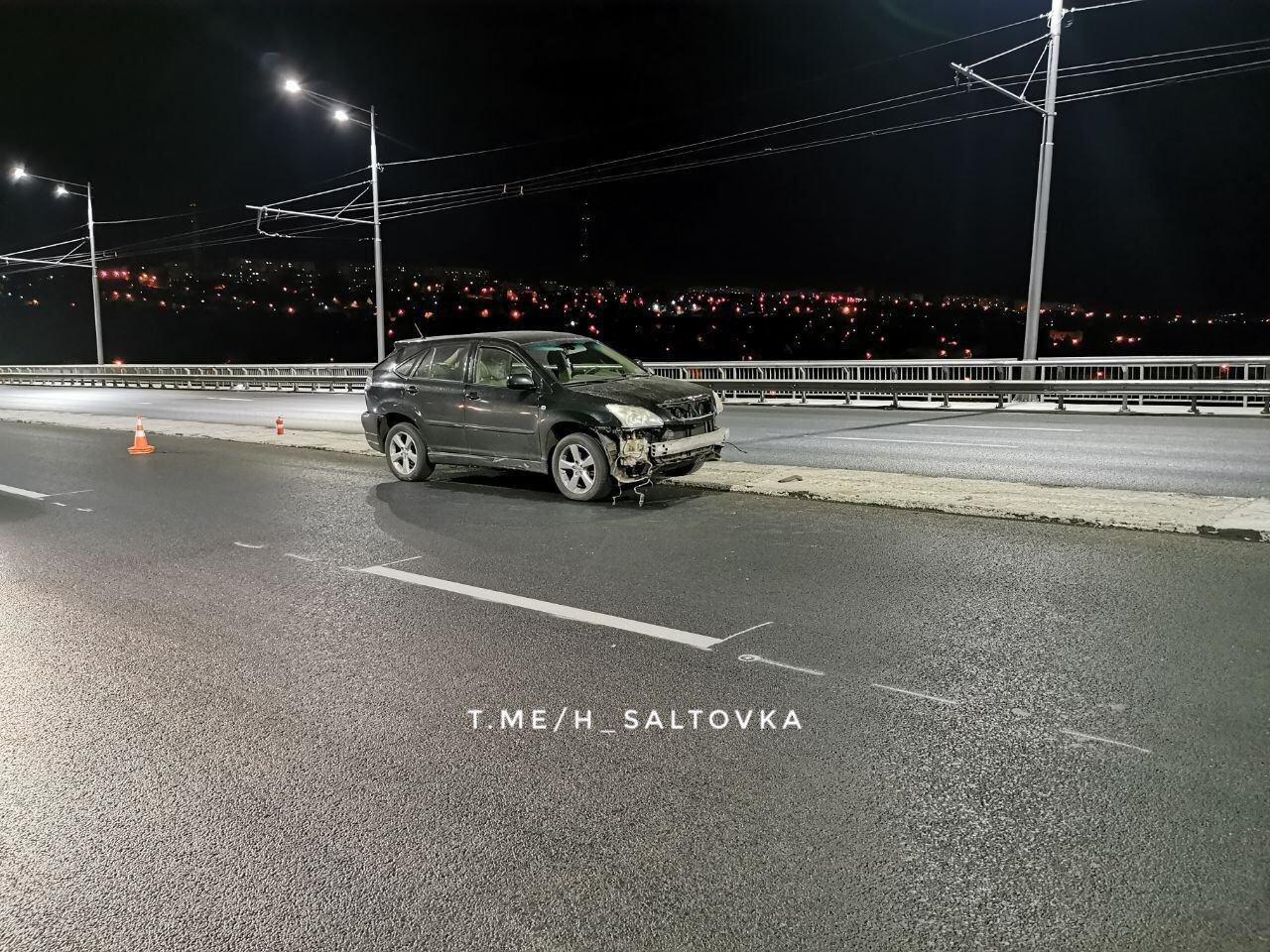 Ночное ДТП на Коммунальном мосту: на пьяного водителя составили два админпротокола, - ФОТО