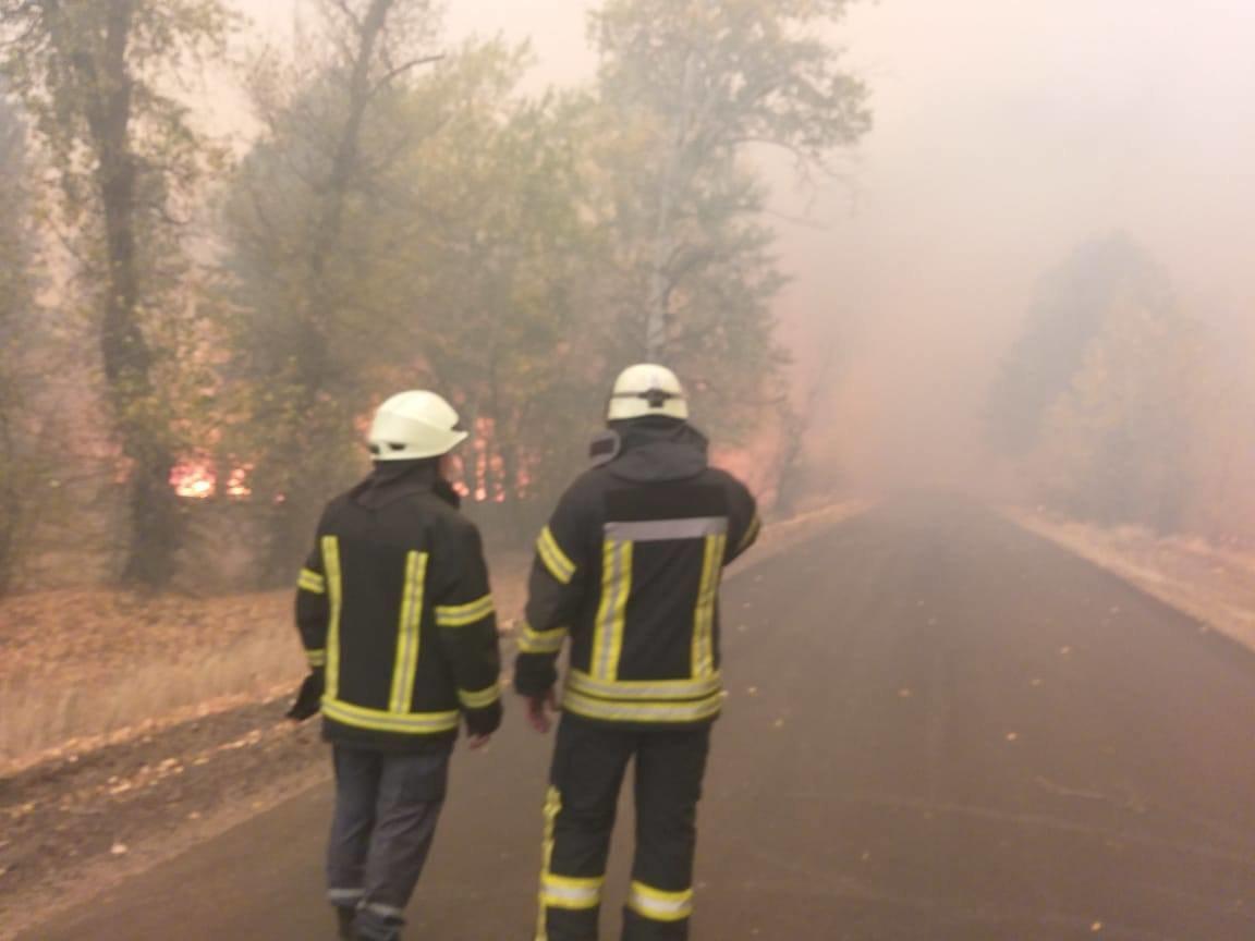 Харьковские спасатели тушат масштабные лесные пожары на Луганщине: среди жителей есть погибшие и пострадавшие, - ФОТО, фото-14