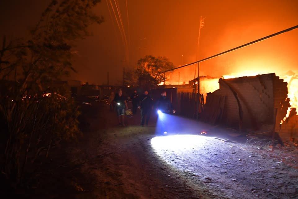 Харьковские спасатели тушат масштабные лесные пожары на Луганщине: среди жителей есть погибшие и пострадавшие, - ФОТО, фото-10