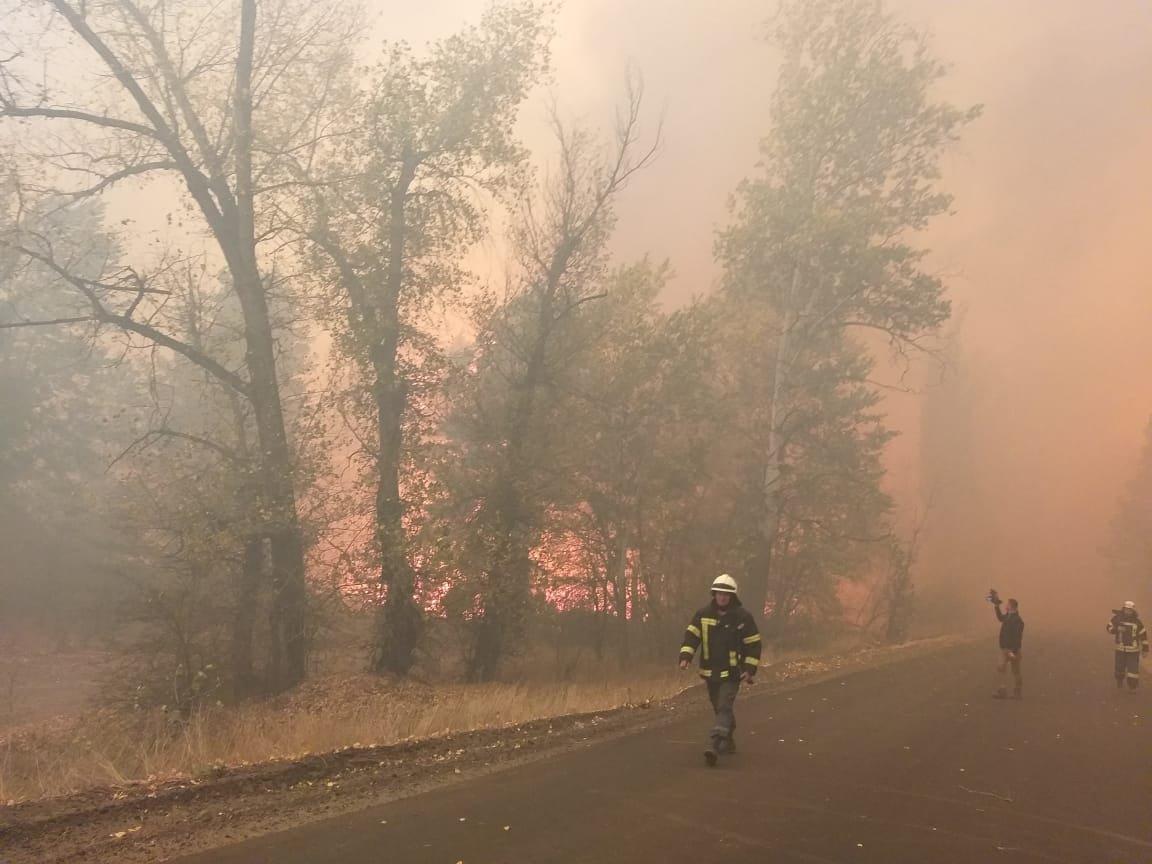 Харьковские спасатели тушат масштабные лесные пожары на Луганщине: среди жителей есть погибшие и пострадавшие, - ФОТО, фото-13
