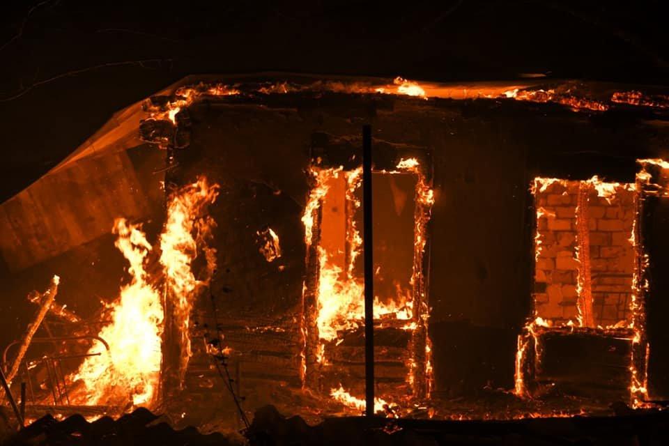 Харьковские спасатели тушат масштабные лесные пожары на Луганщине: среди жителей есть погибшие и пострадавшие, - ФОТО, фото-8