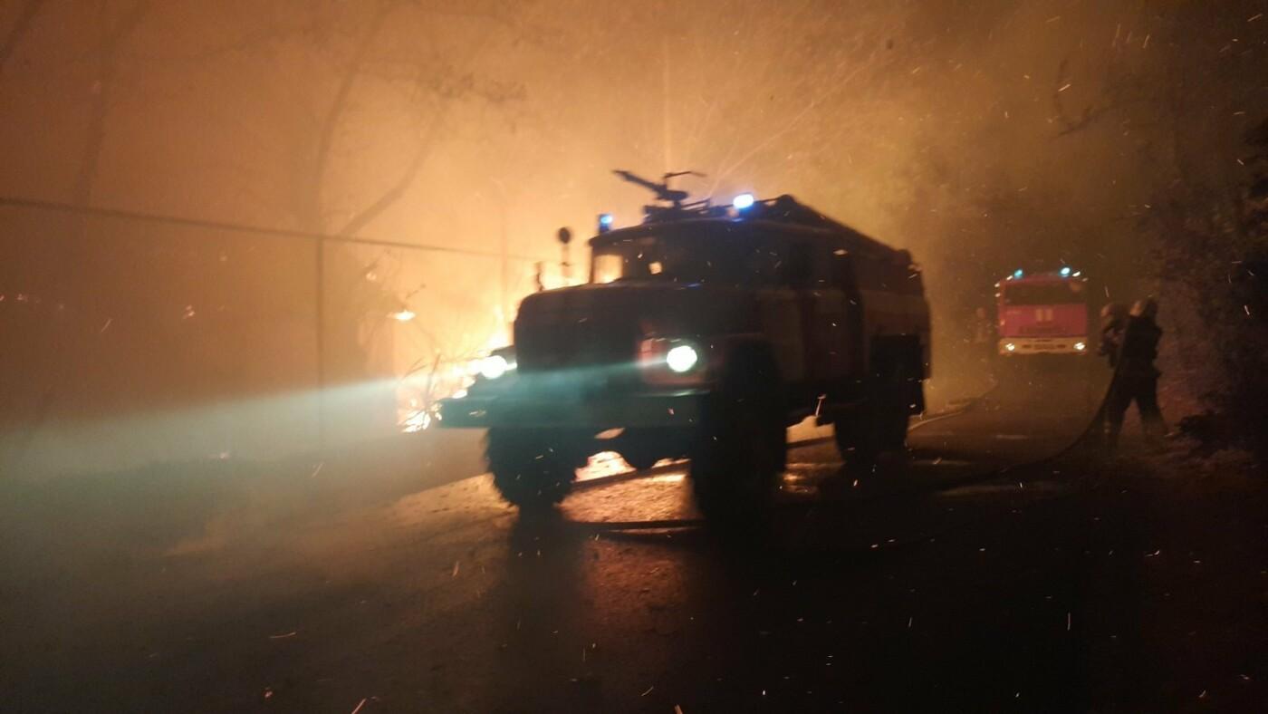 Харьковские спасатели тушат масштабные лесные пожары на Луганщине: среди жителей есть погибшие и пострадавшие, - ФОТО, фото-1