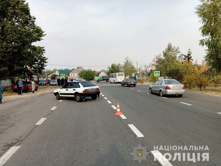 На Харьковщине под колесами легкового авто погибла женщина, переходившая дорогу по «зебре», - ФОТО, фото-1