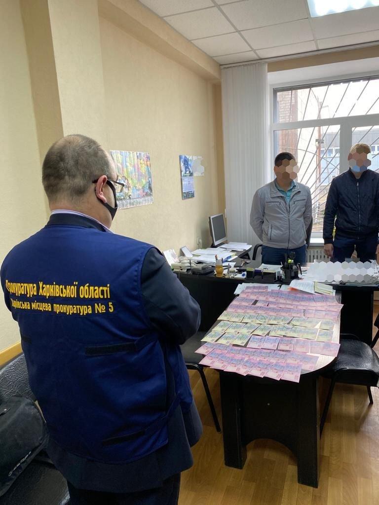 ФОТО: ГУ НП, прокуратура в Харьковской области