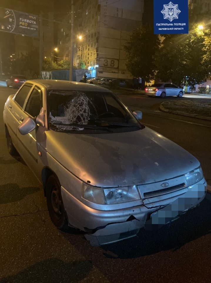 В Харькове легковой автомобиль переехал пешехода: пострадавший в больнице, - ФОТО, фото-1
