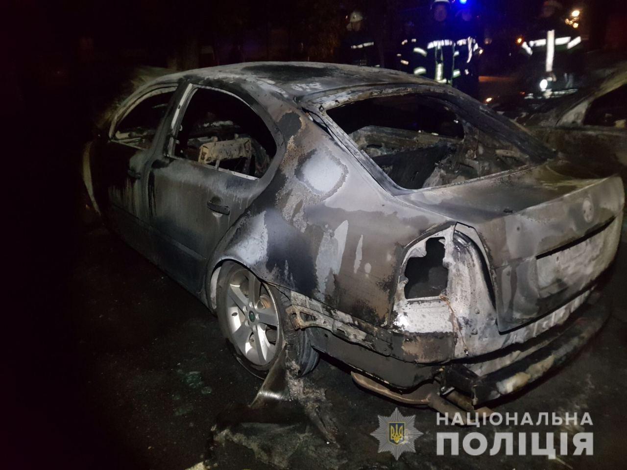 Сгоревшие авто возле охраняемой парковки в Харькове: в полиции рассказали подробности, - ФОТО, фото-3