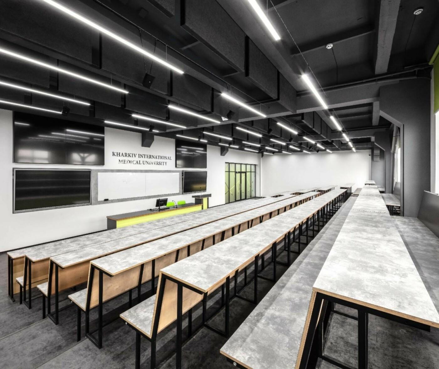 Стильная, яркая и индивидуальная мебель в стиле Loft от компании Lux-m для учебного заведения, фото-6