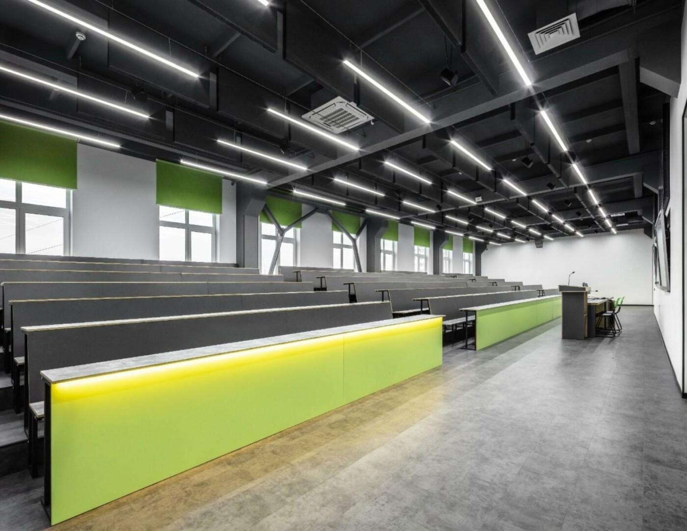 Стильная, яркая и индивидуальная мебель в стиле Loft от компании Lux-m для учебного заведения, фото-2