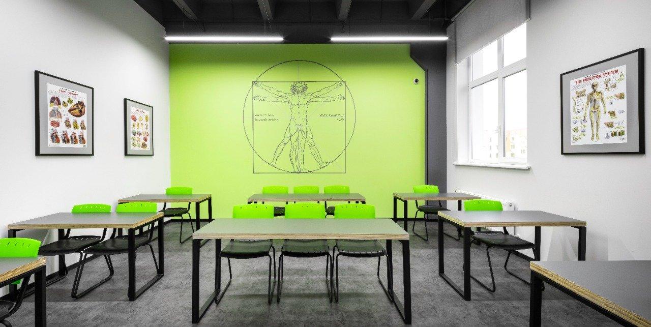 Стильная, яркая и индивидуальная мебель в стиле Loft от компании Lux-m для учебного заведения, фото-12