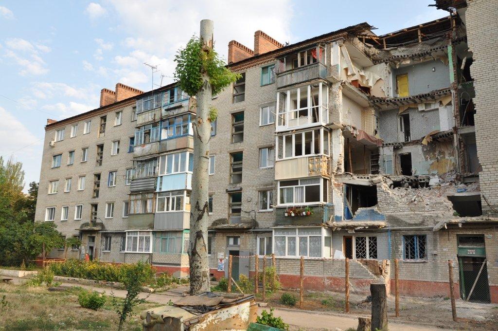 оккупированный боевиками Славянск