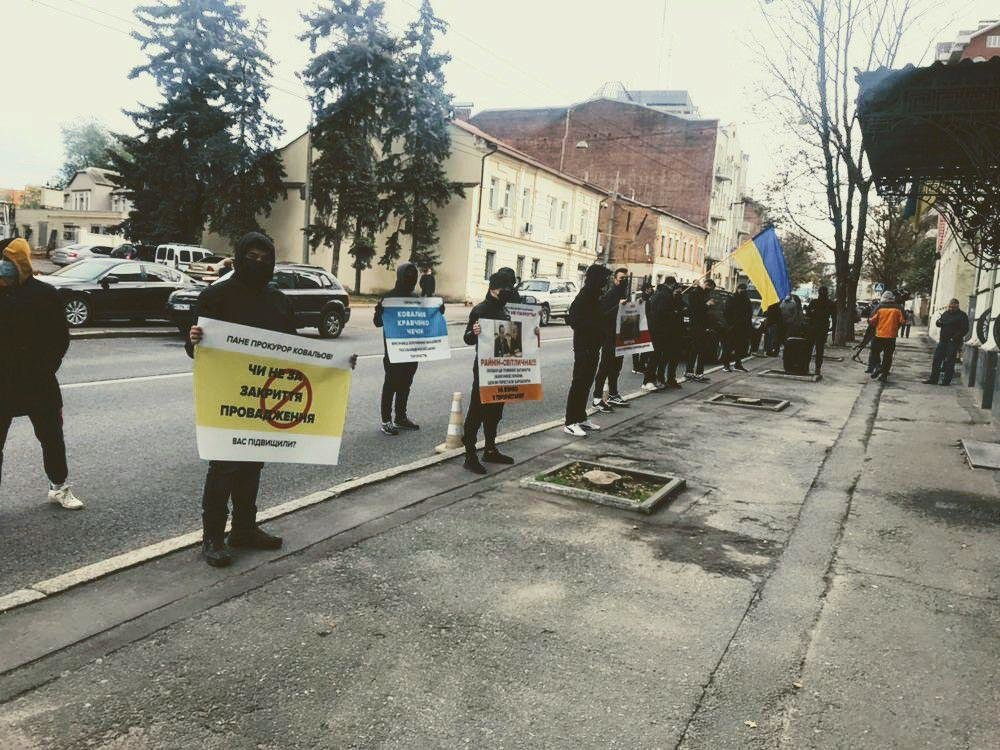 Выделение земли боевикам «ДНР»: в Харькове активисты пикетировали областную прокуратуру, - ФОТО, фото-1