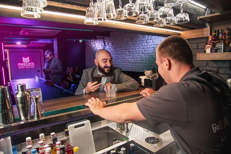 Mad Cats - закрытый мужской бар «для своих»