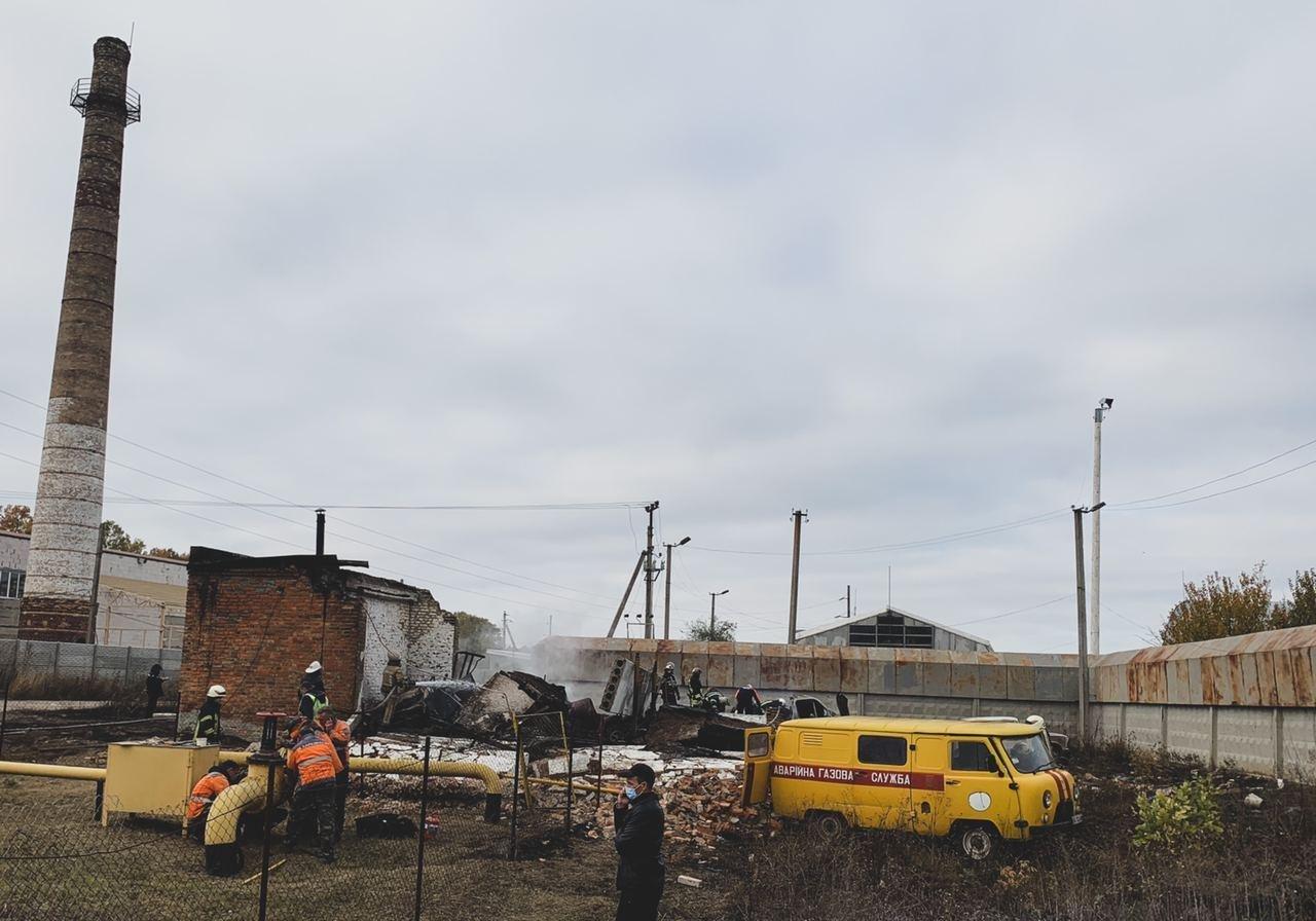 Взрыв под Харьковом: без газа остались несколько тысяч человек, - ФОТО, фото-1