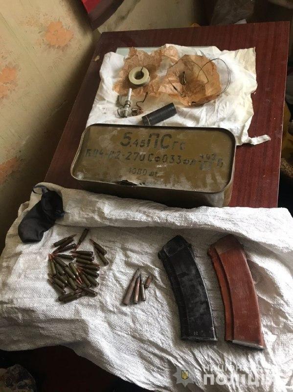 В Харькове силовики разоблачили местного жителя, который в своем доме хранил боеприпасы, - ФОТО, фото-1