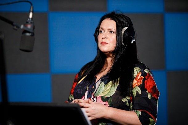 Руслана Писанка у процесі роботи над проєктом «Hollywood українською»