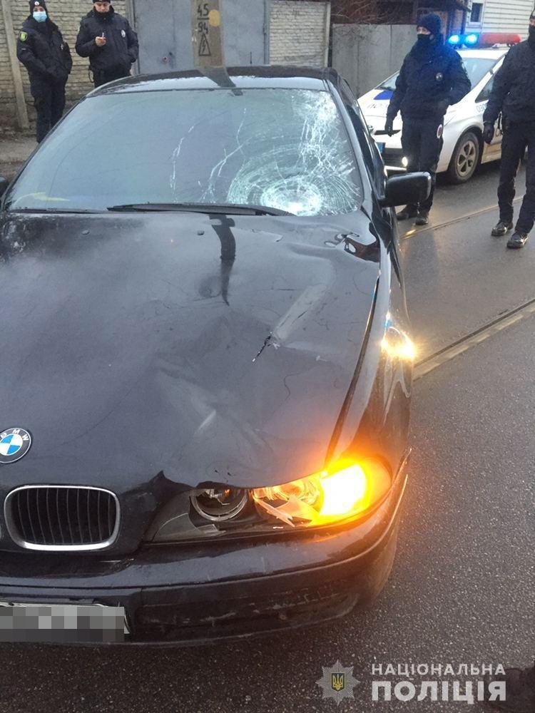 В Харькове автомобиль «BMW» насмерть «снес» женщину, переходившую дорогу по «зебре», - ФОТО, фото-3
