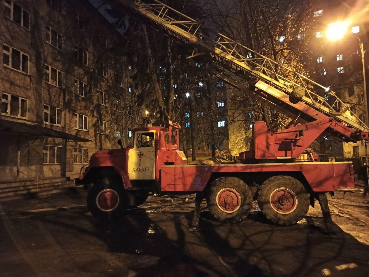В Харькове из горящего общежития медицинского университета эвакуировали около 100 человек, - ФОТО, фото-2