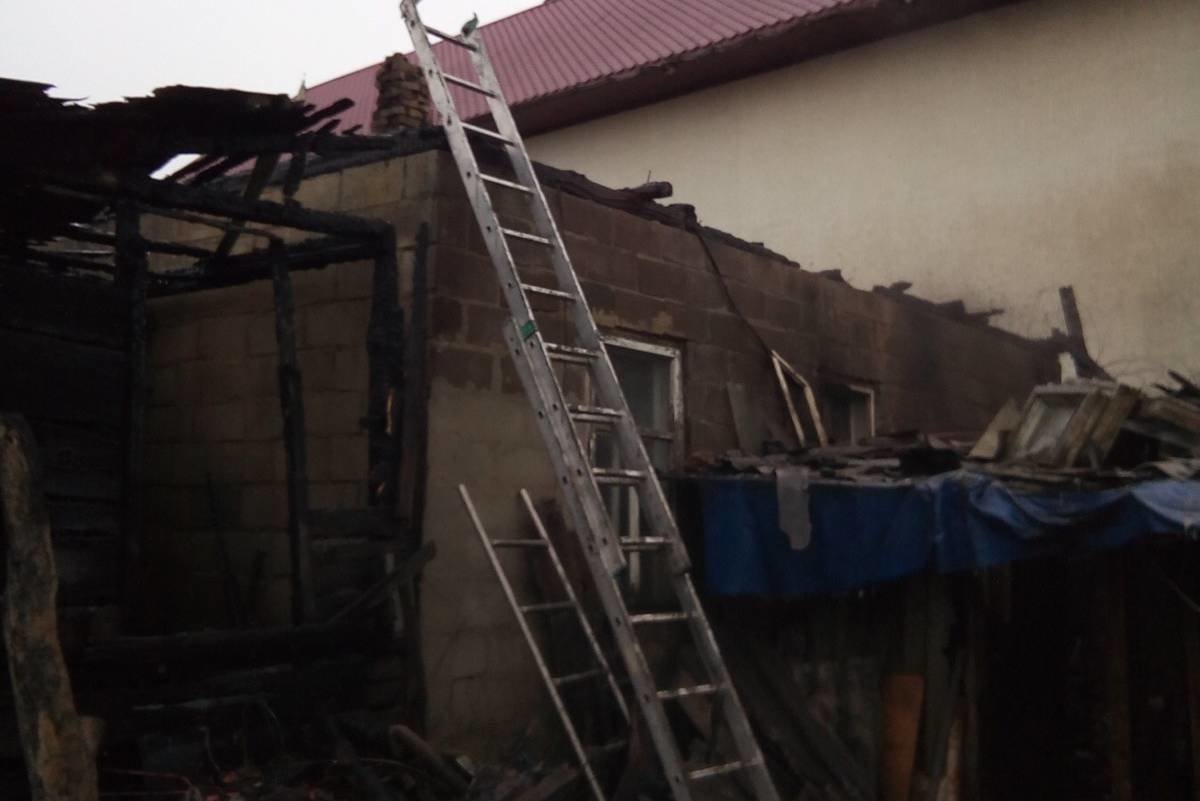 «Вся домашняя птица сгорела в огне»: на Харьковщине загорелась территория частного дома, - ФОТО , фото-2