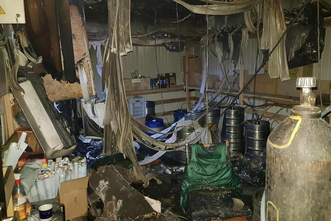 Под Харьковом спасатели тушили масштабный пожар в магазине, который загорелся из-за короткого замыкания, - ФОТО, фото-3